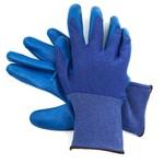 Перчатки нейлоновые с нитриловым покрытием Синий Синий