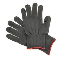 Перчатки нейлоновые чёрные без покрытия