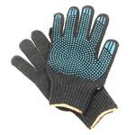 Перчатки ХБ 7 нитка 7,5 класс с ПВХ точка