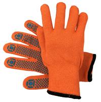 Перчатки Акриловые с ПВХ Оранж