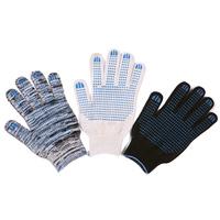 Перчатки ХБ 7 нитка 10 класс с ПВХ точка