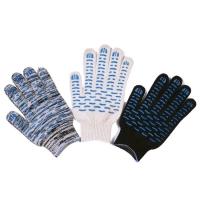Перчатки ХБ 7 нитка 10 класс с ПВХ волна