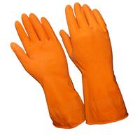 Перчатки хозяйственные латексные (Лотос)