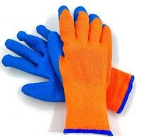 Перчатки Акриловые утепленные со вспененным  латексным покрытие