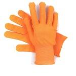 Перчатки нейлоновые оранжевые с ПВХ Точка (Россия)