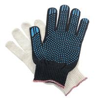 Перчатки ХБ 5 нитка 10 класс с ПВХ точка
