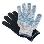 Перчатки ХБ 5 нитка 10 класс с ПВХ точка (люкс)
