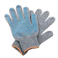 Перчатки ХБ 7 нитка 7,5 класс с ПВХ волна