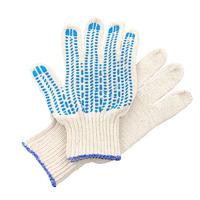 Перчатки ХБ 4 нитка 10 класс с ПВХ протектор