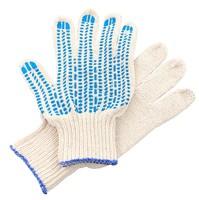 Перчатки ХБ 5 нитка 7,5 класс с ПВХ протектор