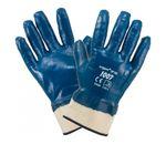 Перчатки Нитриловые Крага Синие